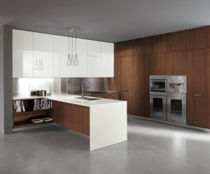 meuble de cuisine jusqu'au plafond