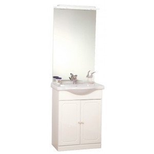 Meuble salle de bain une vasque pas cher for Meuble une vasque