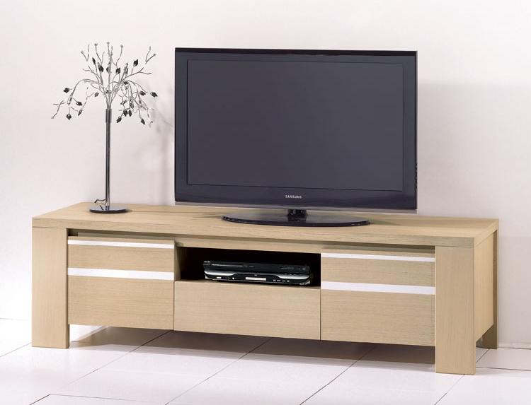 meuble tele tres bas. Black Bedroom Furniture Sets. Home Design Ideas