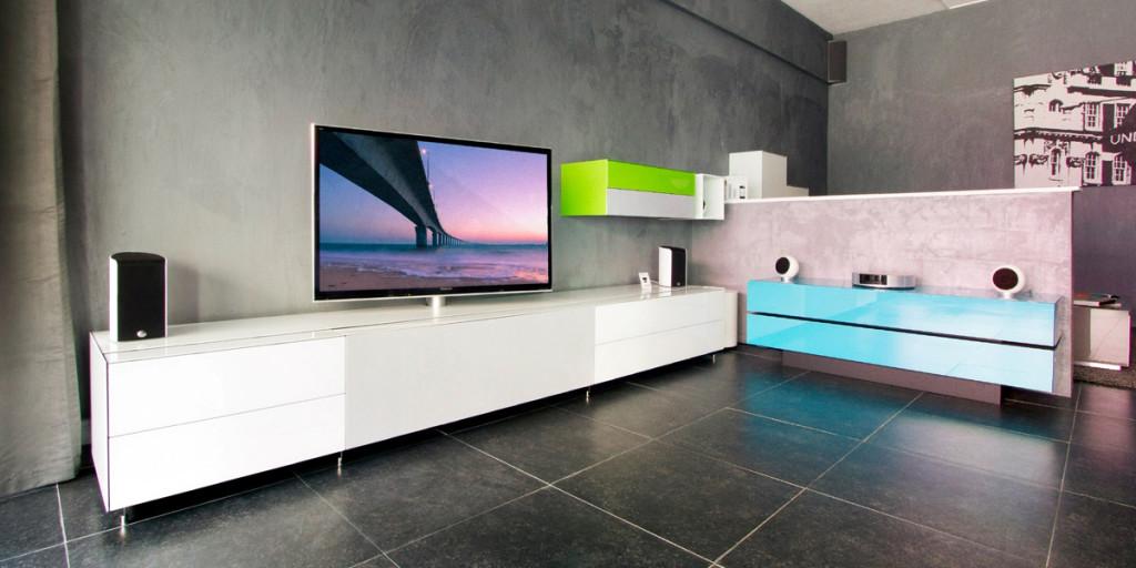 meuble tv tres haut de gamme. Black Bedroom Furniture Sets. Home Design Ideas