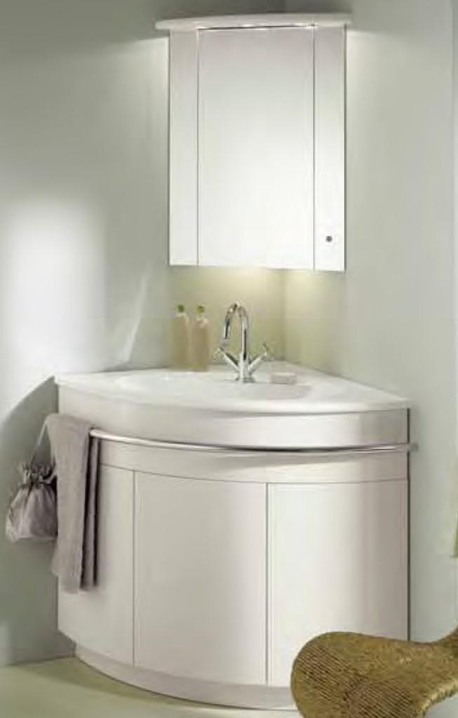 meuble vasque d 39 angle salle de bain
