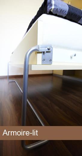 pieds de lit escamotables. Black Bedroom Furniture Sets. Home Design Ideas