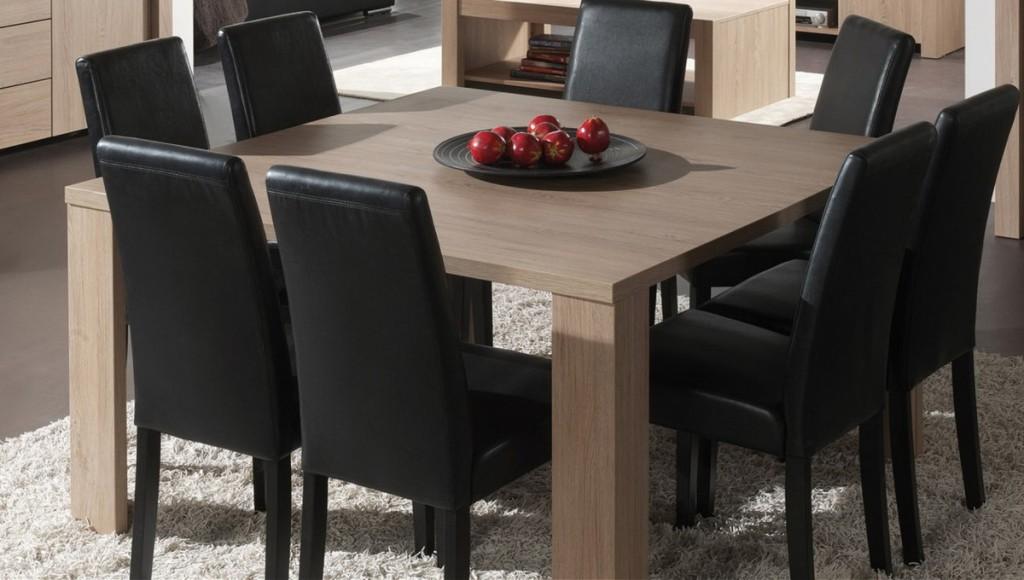 Table a manger carree pas cher for Grande table a manger carree