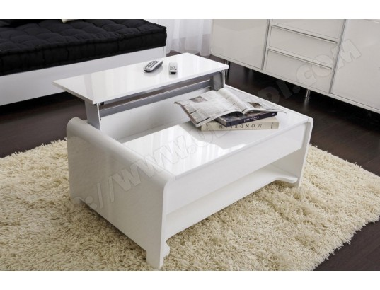 Ensemble table basse meuble tv pas cher - Table basse up and down pas cher ...