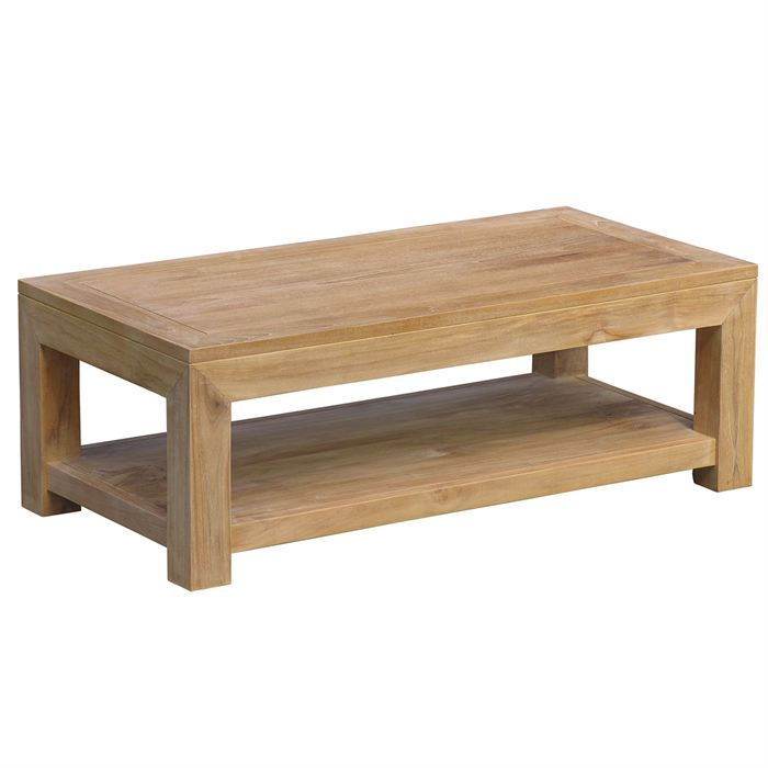 Table basse en bois fait maison - Table basse delamaison ...