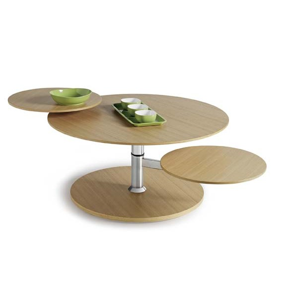 Table basse extensible bois images for Table basse moderne bois