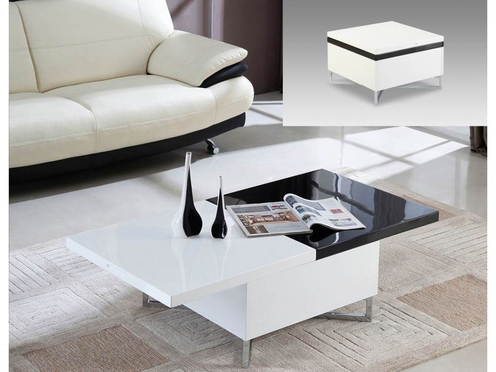 Table basse extensible for Table basse extensible