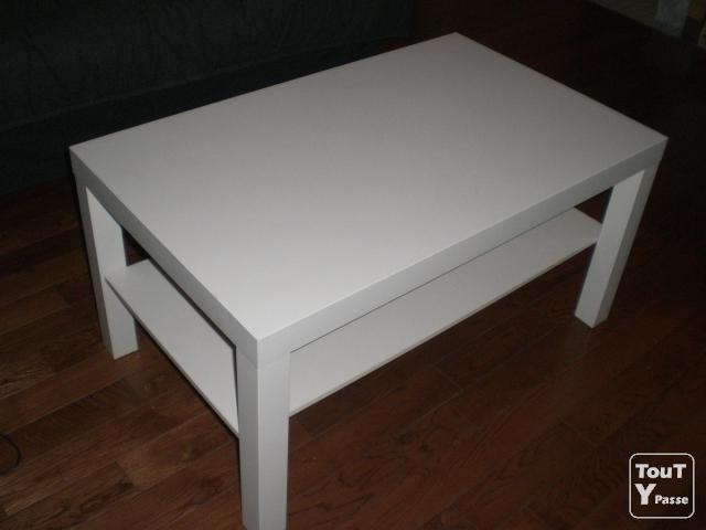 Trouver table basse ikea blanc for Table basse blanc ikea