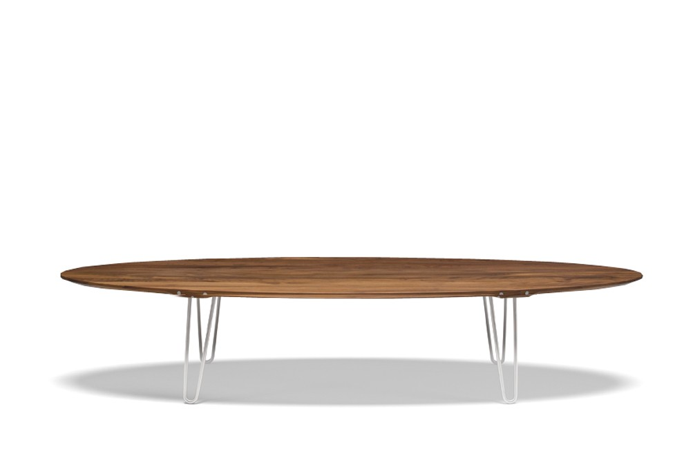 Table basse ovale marine for Table ovale design