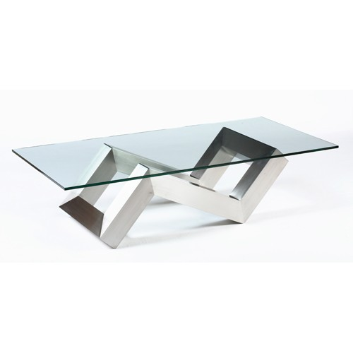 Table basse en verre gifi for Table basse en verre but