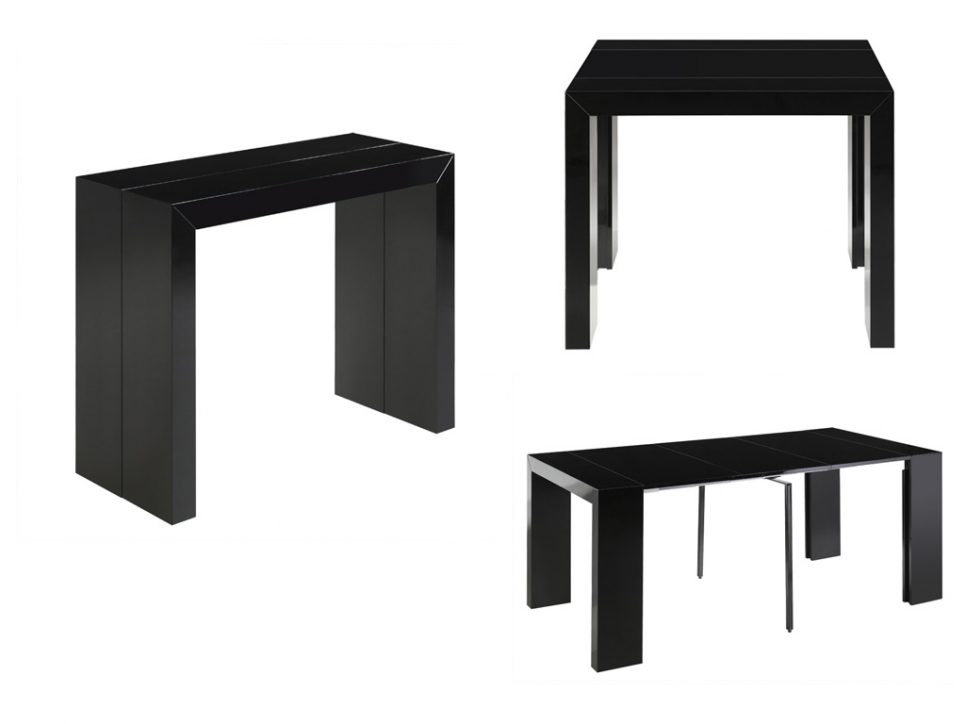 table console extensible pas cher. Black Bedroom Furniture Sets. Home Design Ideas