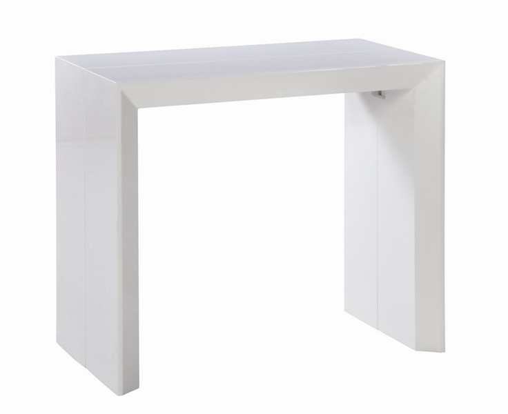 Exemple table console extensible pas cher ikea for Console meuble ikea