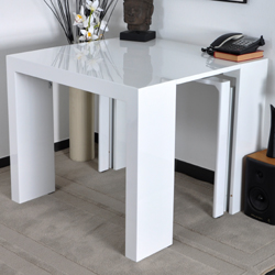Photo table console extensible pas cher ikea Table haute extensible pas cher