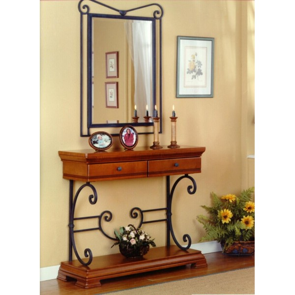 table console hall d 39 entree. Black Bedroom Furniture Sets. Home Design Ideas