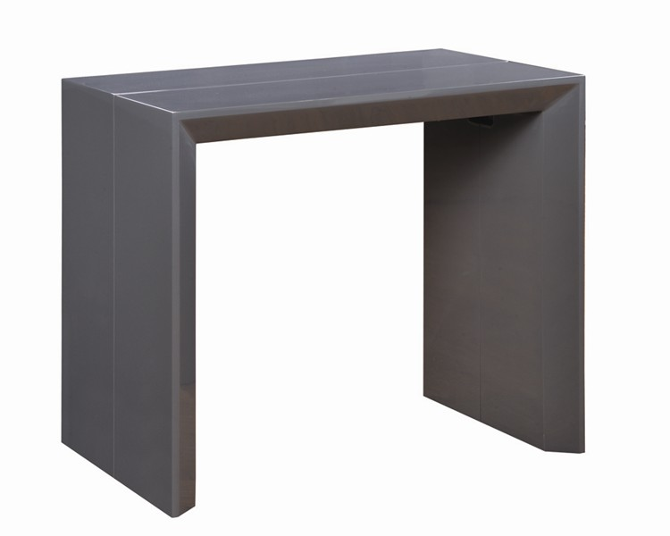 Table console extensible ikea noir - Ikea table noire ...