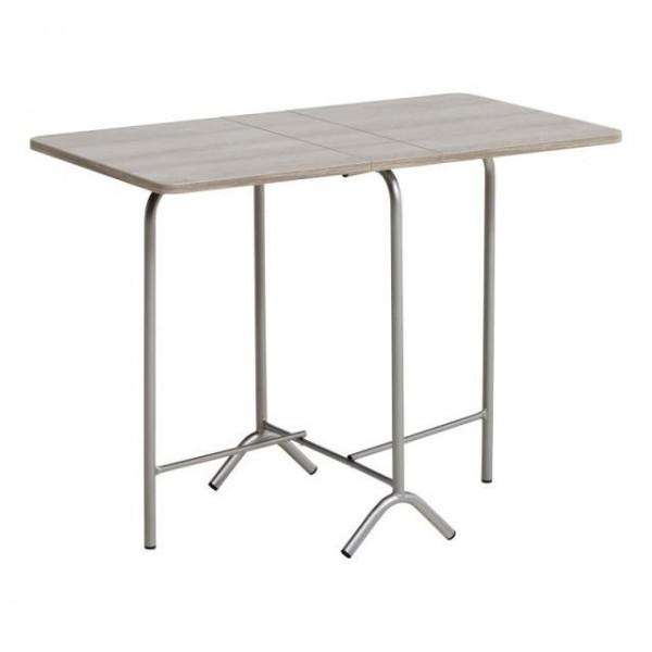 Table d 39 appoint pliante conforama for Petite table de cuisine pliante