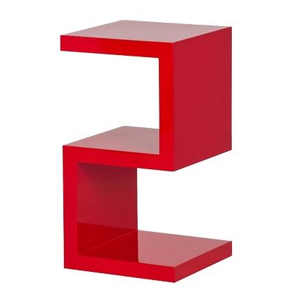 table d 39 appoint rouge. Black Bedroom Furniture Sets. Home Design Ideas