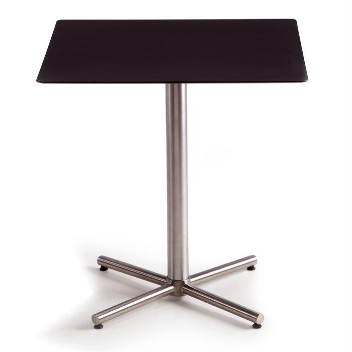Table de bar carree haute - Table de bistrot carree ...