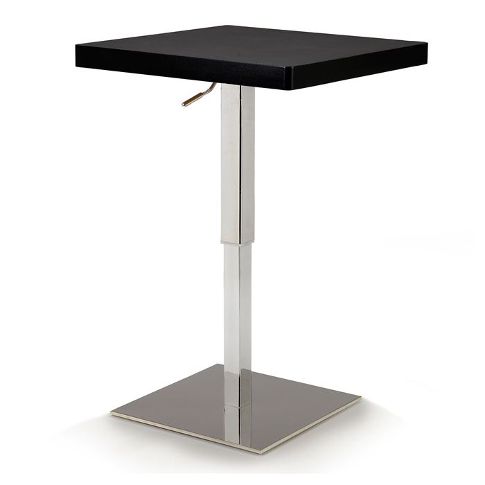 Table de bar carree haute for Table de cuisine bar haute