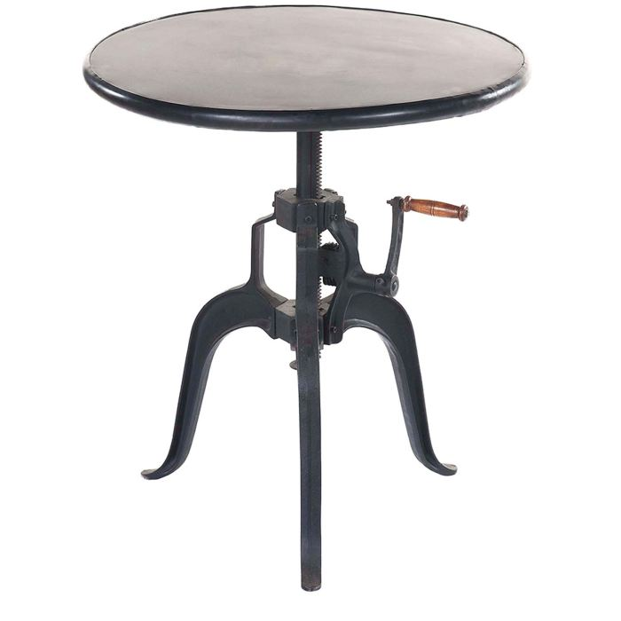 Table de bar reglable en hauteur - Table salon modulable hauteur ...