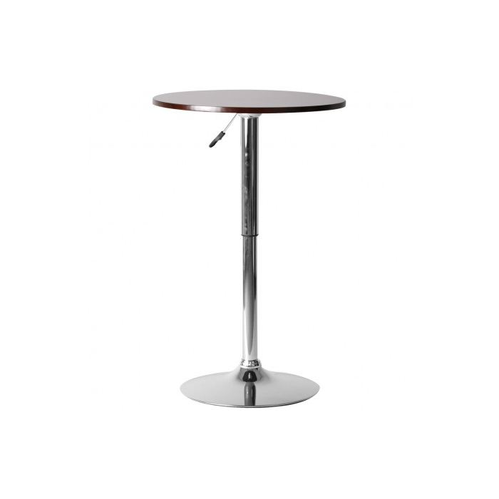 Table haute reglable en hauteur - Amazon table de bar ...