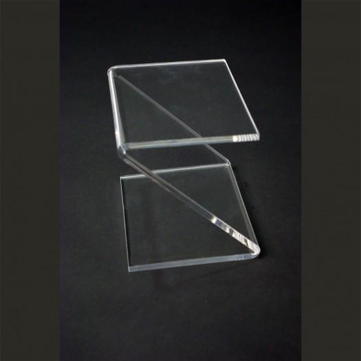 Table de chevet en plexiglas for Table de chevet transparente