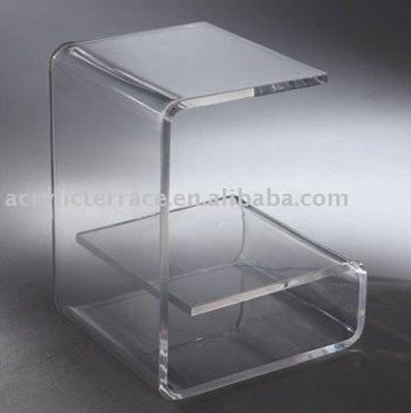 Table De Nuit Plexiglas exemple table de chevet en plexiglas