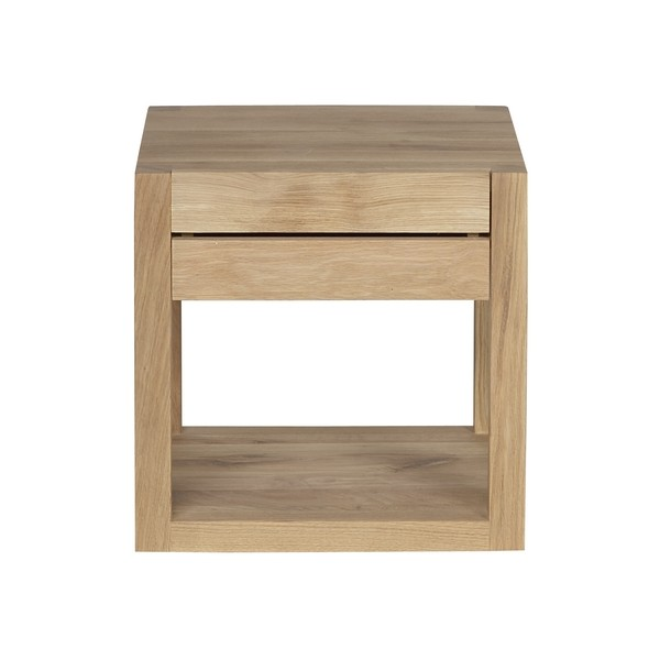 Table de chevet etroite for Modele table de nuit