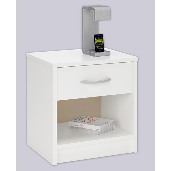 Ikea chevet blanc beautiful ikea chevet blanc with ikea - Table de chevet pas cher ikea ...