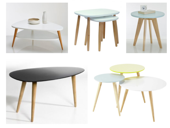 Table basse industrielle la redoute maison design for La redoute table