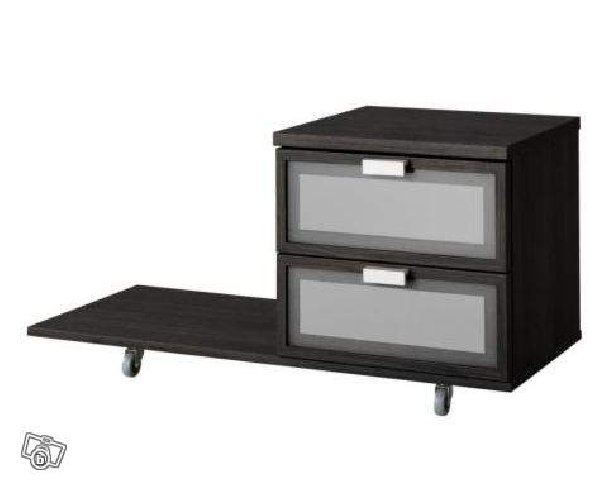 Table de chevet wenge ikea for Table de chevet ikea