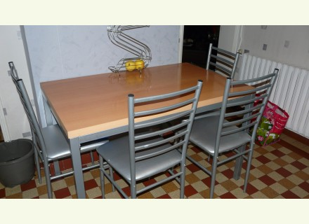 Table et chaise de cuisine occasion - Table et chaise occasion ...