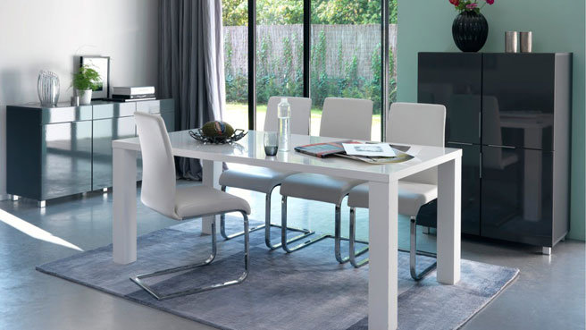table salle a manger extensible ikea cheap table de repas table manger extensible alina table. Black Bedroom Furniture Sets. Home Design Ideas