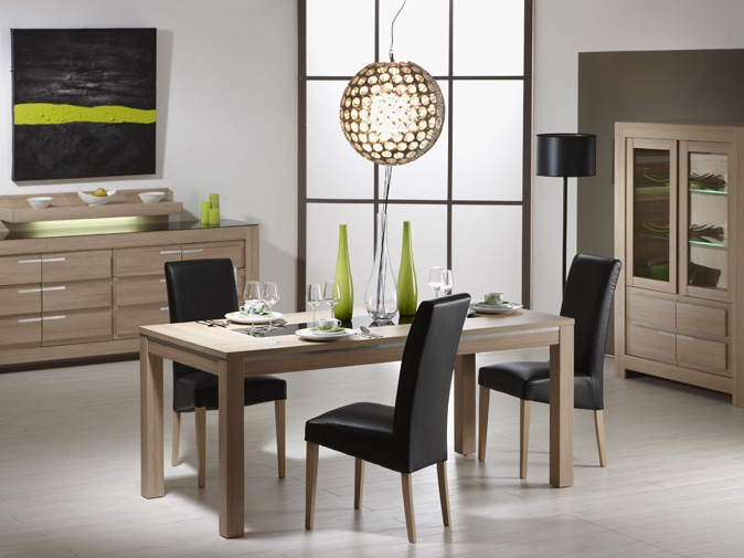 Table et chaises salle a manger conforama for Table salle a manger design conforama