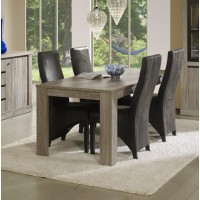 Organisation table et chaises salle a manger conforama for Table manger conforama