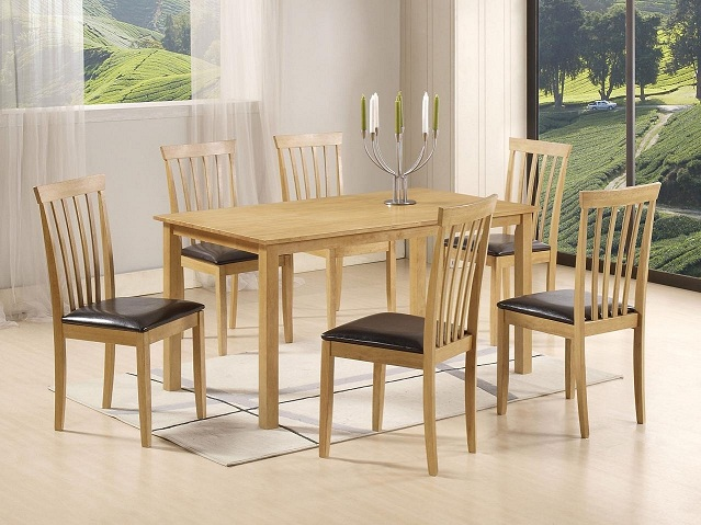 Table et chaise salle a manger but top chaise clara lot for Ensemble table et chaises salle a manger