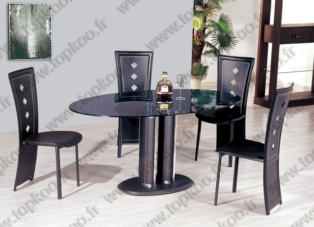 mod le table et chaises salle a manger occasion. Black Bedroom Furniture Sets. Home Design Ideas