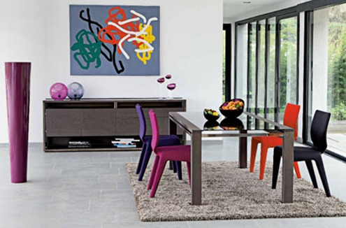 chaise de salle a manger roche bobois. Black Bedroom Furniture Sets. Home Design Ideas