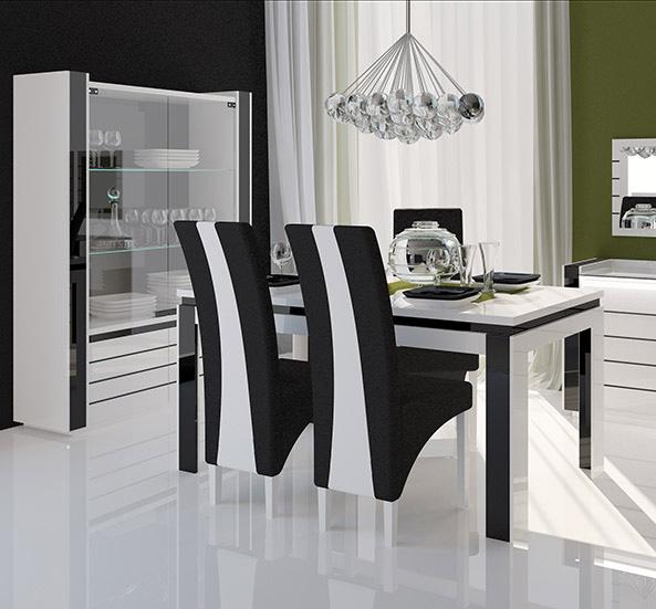Table et chaise salle a manger moderne for Table et chaise de salle a manger moderne