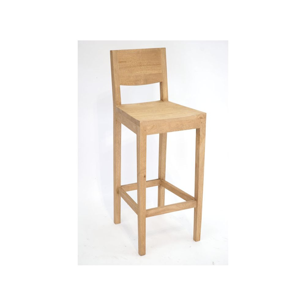 Photo tabouret de bar avec dossier for Tabouret haut cuisine