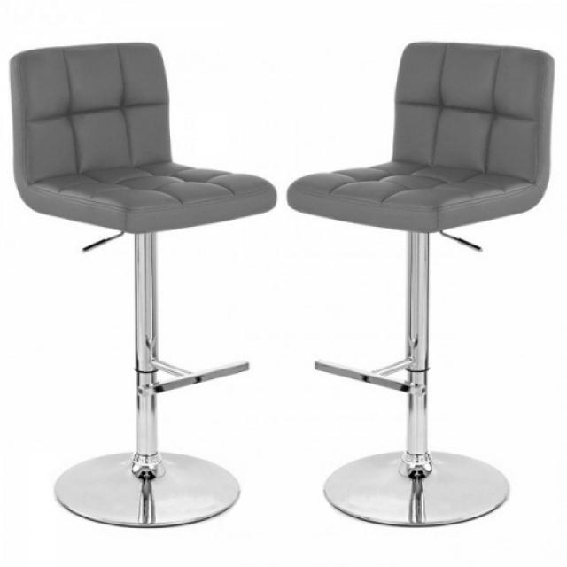 tabouret de bar gris pas cher. Black Bedroom Furniture Sets. Home Design Ideas