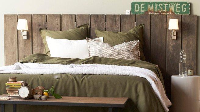 exemple tete de lit nature