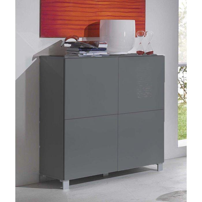 vaisselier gris laque. Black Bedroom Furniture Sets. Home Design Ideas