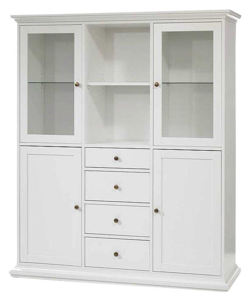 vaisselier blanc pas cher hoze home. Black Bedroom Furniture Sets. Home Design Ideas