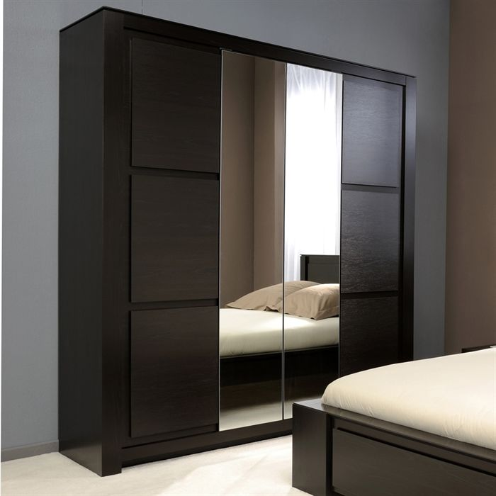 exemple armoire chambre wenge. Black Bedroom Furniture Sets. Home Design Ideas