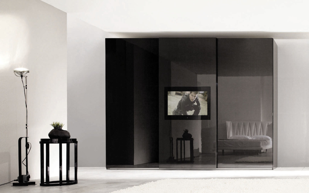armoire de chambre avec tv. Black Bedroom Furniture Sets. Home Design Ideas