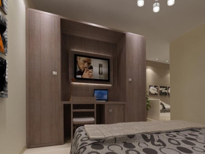 modèle armoire de chambre avec tv