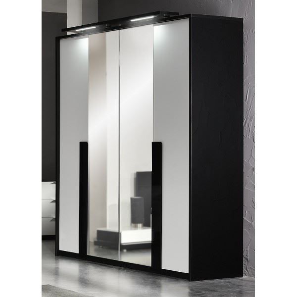 armoire de chambre en solde. Black Bedroom Furniture Sets. Home Design Ideas