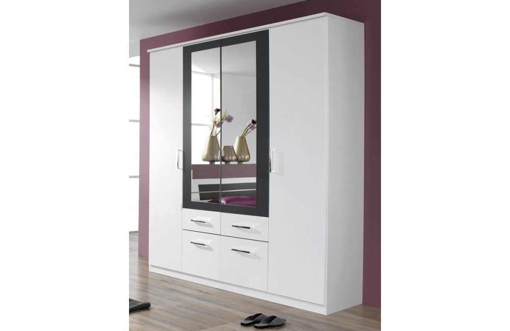 soldes armoire chambre maison design. Black Bedroom Furniture Sets. Home Design Ideas