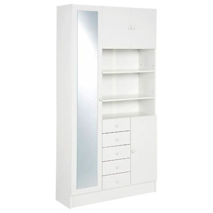 Beautiful commode laque blanc ikea 13 mobilier maison for Salle de bain armoire
